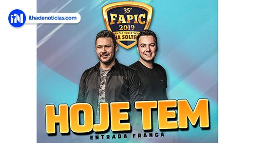 Último dia da FAPIC 2019 tem show com João Bosco e Vinícius e final do rodeio em cavalos e touros